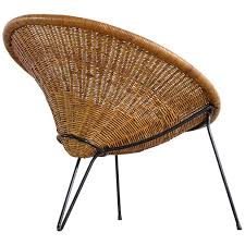 Wicker Lounge Chair Wicker Lounge Chairs 85 For Sale At 1stdibs