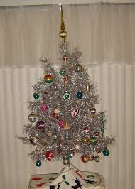 shiny happy christmas tree we had one of these in our