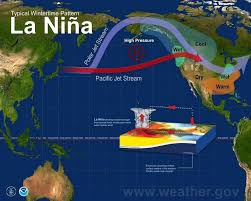 louisiana map global warming she s back la niña is here for the second consecutive year zero