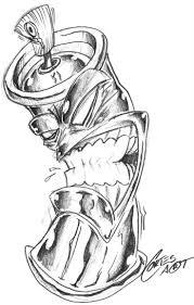 cartoon graffiti tatto designs graffiti tattoo design by