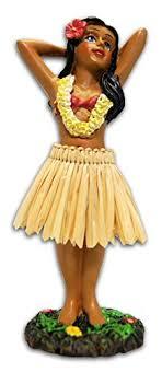 hula posing mini dashboard doll 4 4 home kitchen