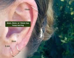 best cartilage earrings cartilage earring etsy