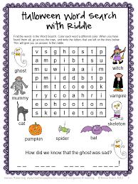 Acrostic Poem Halloween Halloween Word Search Puzzles