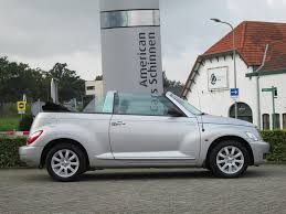 used chrysler pt cruiser cabrio 2 4i limited aut cabrio leder