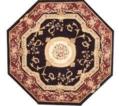 royal palace edinburgh 6 u0027x6 u0027 octagonal wool rug page 1 u2014 qvc com