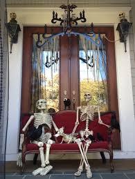 nice looking halloween outdoor home ideas combine brilliant porch