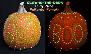 Glow In The Dark Home Decor Glow In The Dark Puffy Paint Polka Dot Pumpkin Club Chica Circle