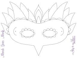make your own mardi gras mask 19 free mardi gras mask templates for kids and adults