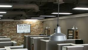 commercial warehouse lighting fixtures wall sconces warehouse lighting a cut above for hair salon blog