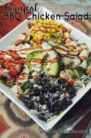 copycat bbq chicken salad recipe sparkles of sunshine