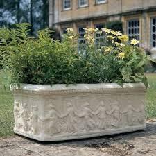 garden troughs tor stone