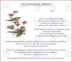 what do hummingbirds symbolize what does it when a