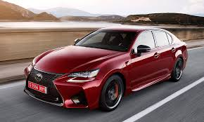 lexus rc f price in ksa lexus prices high performance gs f from 85 380