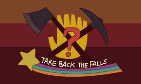 Phoenix Arizona Flag Take Back The Falls U0027 Flag Gravity Falls By Cyberphoenix001 On