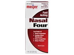 nasal spray u0026 drops meijer com