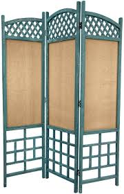 rustic room divider hand painted furniture mexican rustic