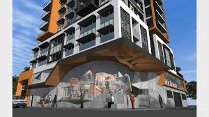 bishopsgate residences floor plan high rise apartments proposed for wickham newcastle herald