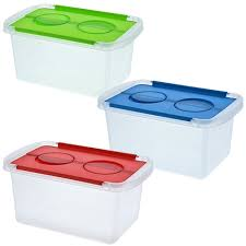 plastic storage containers with lids storage ideas
