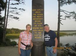 Mississippi cheap ways to travel images Nice post at the mississippi headwaters picture of itasca state jpg