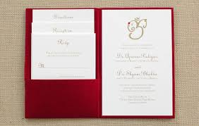 Modern Indian Wedding Invitations Red Blue Magpie Invitations Blog