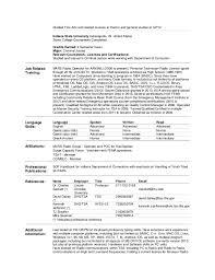 Resume Relevant Coursework Resume 07182015