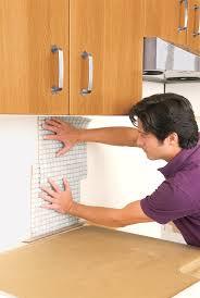 How To Install Kitchen Backsplash Video Classy How To Install Glass Tile Backsplash Video Also Inspiration