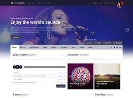 70 best music website templates free u0026 premium freshdesignweb