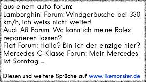 auto sprüche aus einem auto forum lamborghini forum windgeräusche bei 330 km h