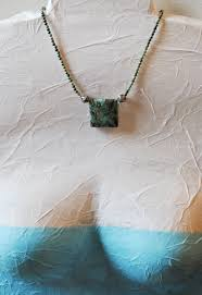 natural turquoise stone african blue green turquoise stone necklace turquoise natural