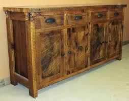 minnesota barnwood buffet table u2014 barn wood furniture rustic