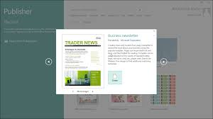 create a new publication in publisher tutorial