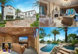 sport stars homes kobe bryant u0027s new and old homes in california