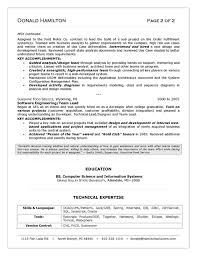 Resume Template It It Resumes Examples It Resume Sample It Resume Examples Resume