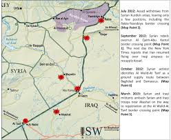 Syria Map Of Control by Syria Update 13 01 Iraq Syria Overland Supply Routes Institute
