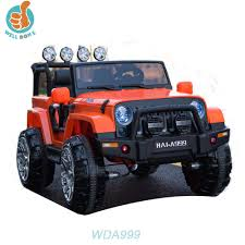 jeep toy popular ride on toy jeep 2 seats door open 2 4g r c kids electric