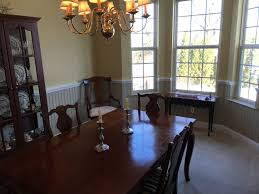 dining rooms with wainscoting wainscoting gives dining room new look stirling painting