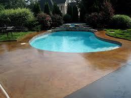 pool decks water features pool deck