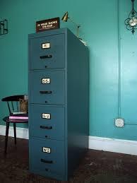 Teal File Cabinet Vintage Ground Vintage Solid Wood Blue File Cabinet