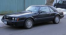 mustang gt 1986 ford mustang third generation