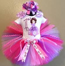 sofia the birthday pink lavender disney princess sofia birthday tutu