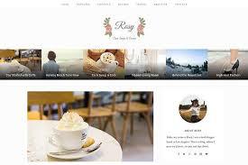 rosy beautiful wordpress blog theme by shapedtheme on