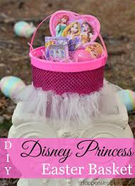 princess easter basket diy disney easter baskets