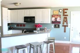 photos of painted cabinets how to paint kitchen cabinets without fancy equipment