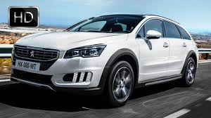 peugeot 4x4 cars video 2015 peugeot 508 rxh facelift hd youtube