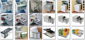 poubelle de cuisine tri selectif poubelle coulissante grande contenance 64 litres pour poubelle