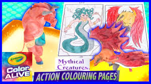 dragons come alive in 3d part2 medusa minotaur mythical creatures