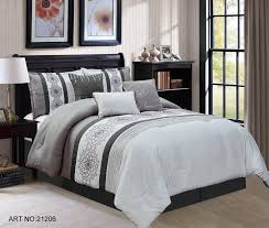 charcoal bedding piece clarissa charcoal gray comforter set