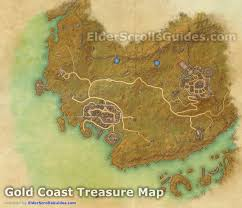 Treasure Maps Gold Coast Treasure Map Locations Elder Scrolls Online Guides