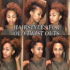 hairstyles for day old curls 6 quick and easy hair styles for old twist outs natural hair youtube