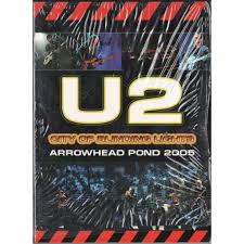U2 In The City Of Blinding Lights City Of Blinding Lights Arrowhead Point Ca 01 04 2005 By U2 Dvd
